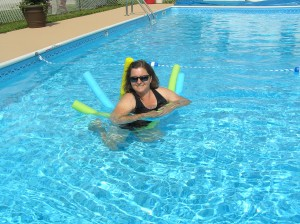activities - fun in the pool